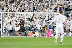 Real Madrid's Isco Alarcon goal during the UEFA Champions League round of 16 first leg match Real Madrid v Manchester City at Santiago Bernabeu stadium on February 26, 2020 in Madrid, Sdpain. Real was defeated 1-2. Photo by David Jar/AlterPhotos/ABACAPRESS.COM