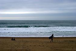 FRANCE BIARRITZ 26AUG05 - Waves break on the beach at Biarritz on southern France's Atlantic coast...jre/Photo by Jiri Rezac..© Jiri Rezac 2005..Contact: +44 (0) 7050 110 417.Mobile:  +44 (0) 7801 337 683.Office:  +44 (0) 20 8968 9635..Email:   jiri@jirirezac.com.Web:     www.jirirezac.com..© All images Jiri Rezac 2005 - All rights reserved.