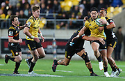 Hurricanes Ben Lam. Super Rugby Quarter Final, Hurricanes v Chiefs. Westpac Stadium, Wellington. Friday 20th July 2018. © Copyright Photo: Grant Down / www.photosport.nz