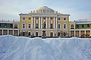St Petersburg, Russia, Pavlovsk Palace, in winter