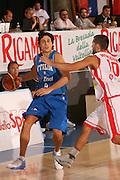 DESCRIZIONE : Bormio Torneo Internazionale Gianatti Italia Austria <br /> GIOCATORE : Marco Mordente<br /> SQUADRA : Nazionale Italiana Uomini<br /> EVENTO : Bormio Torneo Internazionale Gianatti <br /> GARA : Italia Austria <br /> DATA : 31/07/2007 <br /> CATEGORIA : Palleggio <br /> SPORT : Pallacanestro <br /> AUTORE : Agenzia Ciamillo-Castoria/S.Silvestri