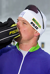 Janez Maric at training session of Slovenian biathlon team before new season 2009/2010,  on November 16, 2009, in Pokljuka, Slovenia.   (Photo by Vid Ponikvar / Sportida)