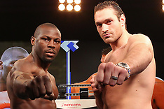 April 19, 2013: Tyson Fury vs Steve Cunningham Weigh-In