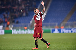 December 5, 2017 - Rome, Italy - Daniele De Rossi of Roma during the UEFA Champions League match between Roma and Qarabag at Stadio Olimpico, Rome, Italy on 5 December 2017  (Credit Image: © Giuseppe Maffia/NurPhoto via ZUMA Press)
