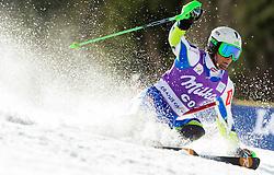ZERAK Miselof Slovenia competes during 1st Run of Men's Slalom - Pokal Vitranc 2012 of FIS Alpine Ski World Cup 2011/2012, on March 11, 2012 in Vitranc, Kranjska Gora, Slovenia.  (Photo By Vid Ponikvar / Sportida.com)