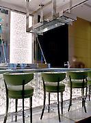 """Bar stools at """"MO Bar."""""""