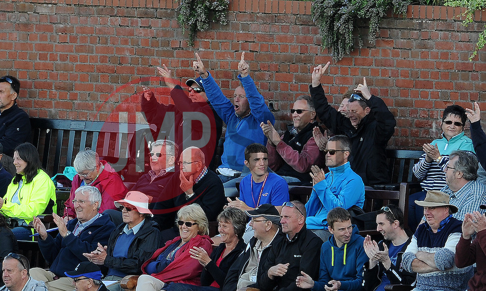General crowd image - Photo mandatory by-line: Harry Trump/JMP - Mobile: 07966 386802 - 05/06/15 - SPORT - CRICKET - Somerset v Hampshire - The County Ground, Taunton, England.
