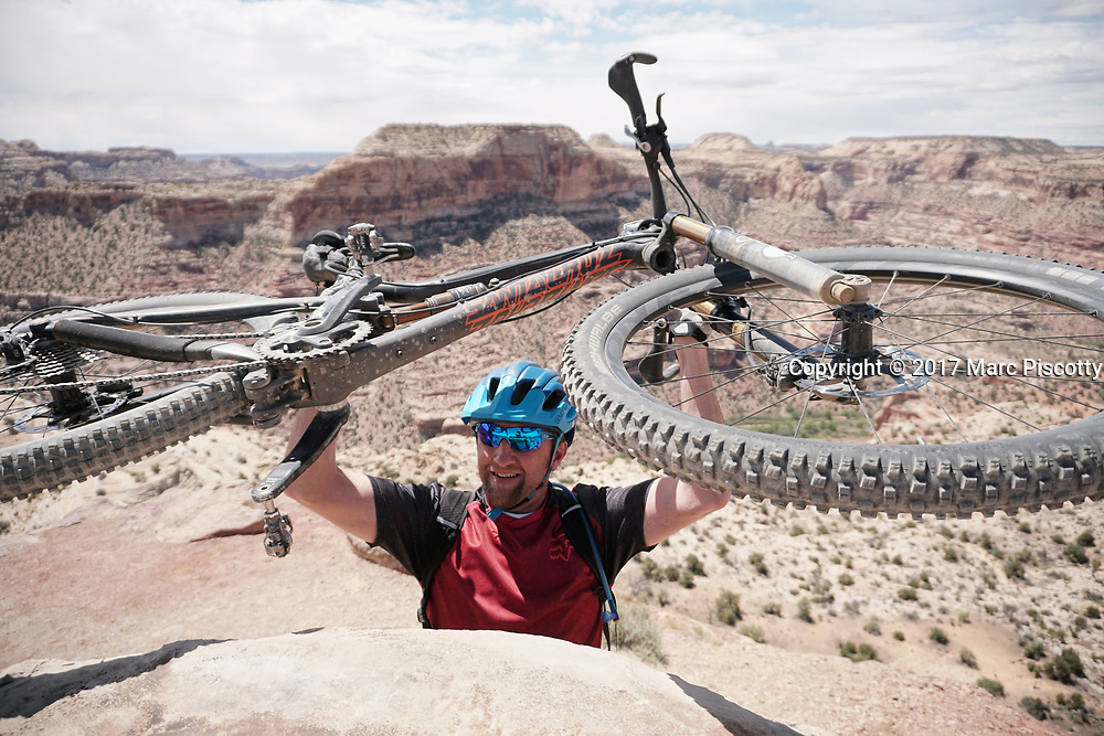 SHOT 5/21/17 11:58:09 AM - Emery County is a county located in the U.S. state of Utah. As of the 2010 census, the population of the entire county was about 11,000. Includes images of mountain biking, agriculture, geography and Goblin Valley State Park. (Photo by Marc Piscotty / © 2017)