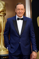 Kevin Spacey arriving to the 2014 Oscars at the Hollywood and Highland Center in Hollywood, California, USA,  Sunday, 2nd March 2014. Picture by Hollywood Bubbles / i-Images<br /> UK ONLY