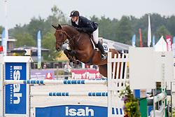 De Boer Lennard, (NED), Fabian HBC<br /> Isah Cup 5 Jarige springpaarden <br /> KWPN Kampioenschappen Ermelo 2015<br /> © Hippo Foto - Dirk Caremans