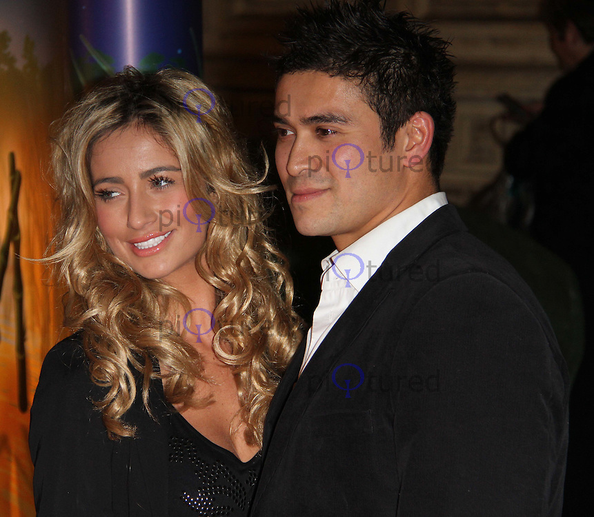 Chantelle Houghton; Rav Wilding Cirque Du Soleil Totem Press Night Premiere, Royal Albert Hall, London, UK, 05 January 2011:  Contact: Ian@Piqtured.com +44(0)791 626 2580 (Picture by Richard Goldschmidt)