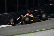 September 4-7, 2014 : Italian Formula One Grand Prix - Romain Grosjean (FRA), Lotus-Renault