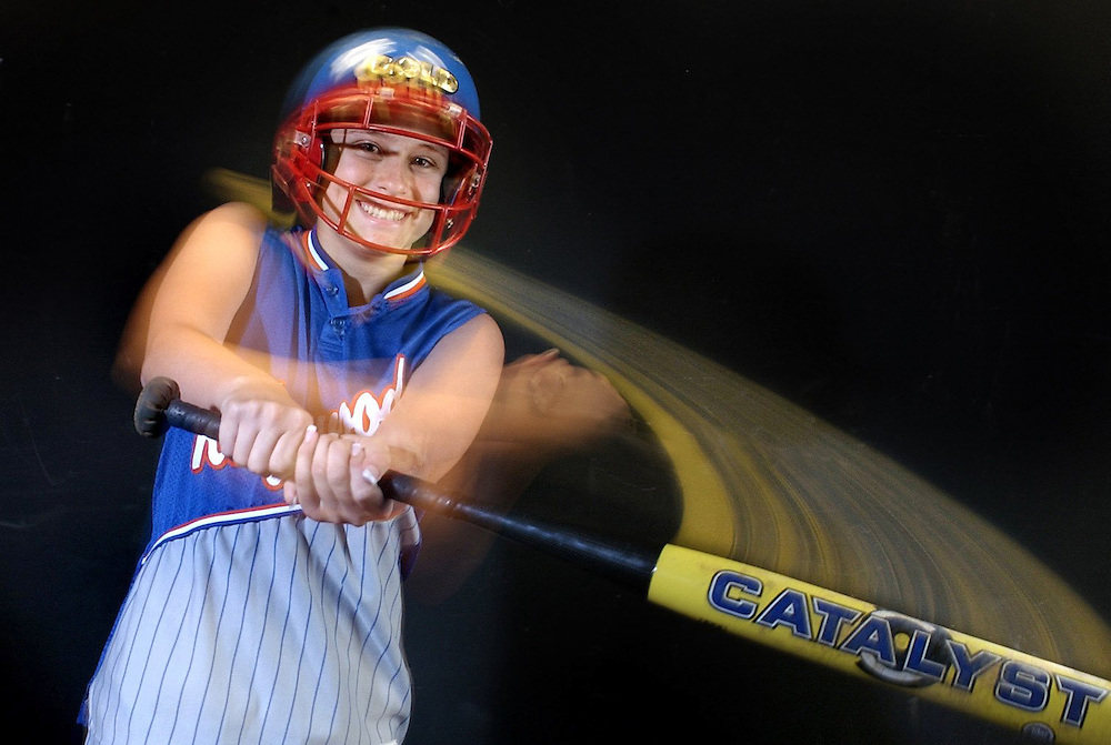 CAPTION: (New Port Richey 05/10/2006) Ridgewood's Jessica Birchmeier (cq),  is the Times All-Pasco County Softball Player of the Year.  SUMMARY: Ridgewood's Jessica Birchmeier, the Times All-Pasco County Softball Player of the Year. She will come to Port Richey office on Wednesday, 5/10/2006, between 3-4 p.m. Shot to run with story in Pasco Times sports on 5/21/2006.  Times Photo by Brendan Fitterer .