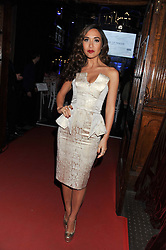 MYLEENE KLASS at the NatWest UK Fashion & Textile Awards in aid of Save The Children held at 1 Mayfair, London on 23rd May 2013.