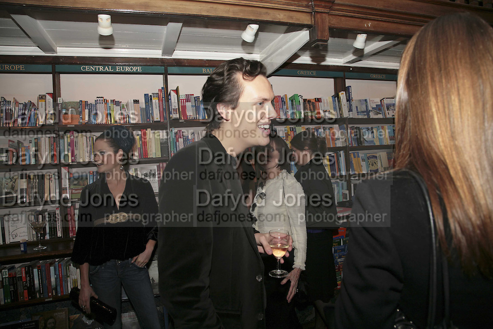 Robert Denning, Book launch of Pretty Things by Liz Goldwyn at Daunt <br />Books, Marylebone High Street. London 30 November 2006.   ONE TIME USE ONLY - DO NOT ARCHIVE  &copy; Copyright Photograph by Dafydd Jones 248 CLAPHAM PARK RD. LONDON SW90PZ.  Tel 020 7733 0108 www.dafjones.com