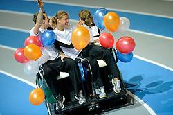 07-02-2010 ATLETIEK: NK INDOOR: APELDOORN<br /> Jolanda Keizer. Dafne Schippers en Martijn Nuijens<br /> ©2010-WWW.FOTOHOOGENDOORN.NL