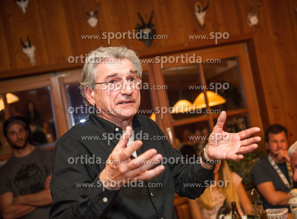 27.12.2013, Dolomitenhuette, Tristach, AUT, FIS Weltcup Ski Alpin, Lienz, Abendessen Dolomitenhuette, im Bild OeSV Generalsekretaer Karl Leistner // during press dinner at Dolomitenhuette for Ladies Skiworldcup at Hauptplatz, Tristach, Austria on 2013-12-27, EXPA Pictures © 2013 PhotoCredit: EXPA/ Michael Gruber