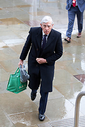 © Licensed to London News Pictures. 02/10/2012. Manchester, UK . Jack Straw arrives at the conference venue . Labour Party Conference Day 3 at Manchester Central . Photo credit : Joel Goodman/LNP