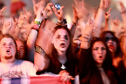 07.08.2010, Wacken Open Air 2010, Wacken, GER, 3.Tag beim 21.Heavy Metal Festival Fans vor der Buehne, EXPA Pictures © 2010, PhotoCredit: EXPA/ nph/  Kohring+++++ ATTENTION - OUT OF GER +++++ / SPORTIDA PHOTO AGENCY
