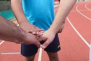 team spirit before race