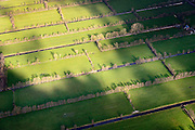 Nederland, Friesland, Gemeente Smallingerland, 28-02-2016; verkaveling van voormalig veenkolonie,  omgeving Drachtstercompagnie. Parcelling of former peat colony, Friesland.<br /> luchtfoto (toeslag op standard tarieven);<br /> aerial photo (additional fee required);<br /> copyright foto/photo Siebe Swart