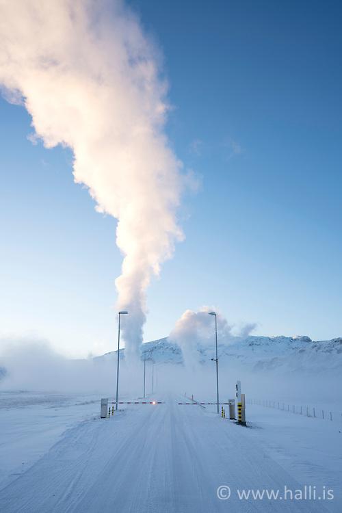 Geothermal power plant, Nesjavellir, Iceland - Nesjavallarvirkjun