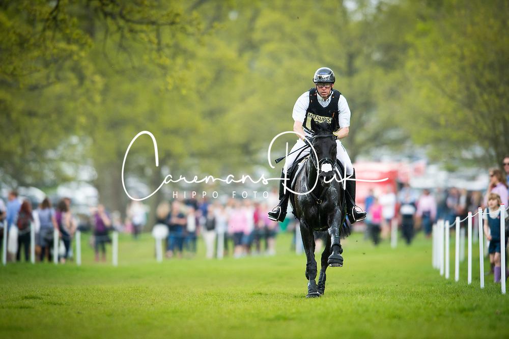 Dibowski Andreas, (GER), FRH Butts Avedon<br /> CCI4* - Mitsubishi Motors Badminton Horse Trials 2016<br /> © Hippo Foto - Jon Stroud<br /> 06/05/16