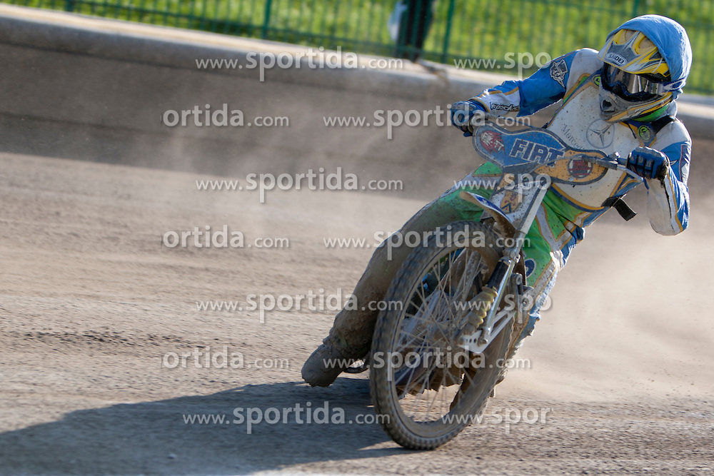 Maks Gregoric of team Slovenia during FIM Speedway World Cup Qualifying round 2 for team's Slovenia, Italy, USA and Ukraine, on May 5, 2012, in Sportni park Ilirije, Ljubljana, Slovenia. (Photo by Urban Urbanc / Sportida)