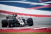 October 19-22, 2017: United States Grand Prix. Kevin Magnussen, Haas F1 Team, VF17