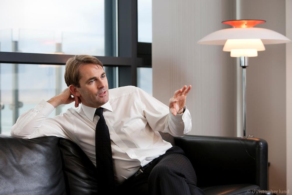 Finnur Sveinbjörnsson, CEO of New Kaupthing.