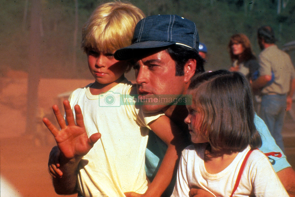 May 15, 2017 - Hollywood, USA - THE EMERALD FOREST (1985)..WILLIAM RODRIGUEZ, POWERS BOOTHE, YARA VANEAU..EMRF 010..MOVIESTORE COLLECTION LTD..Credit: Moviestore Collection/face to face..- Editorial use only  (Credit Image: © face to face via ZUMA Press)