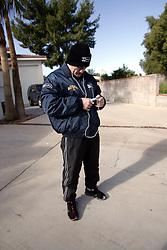 Ricky Hatton Ricky Hatton goes for his morning run. 5th December 2007, Las Vegas, Nevada...Ricky Hatton goes for his morning run.