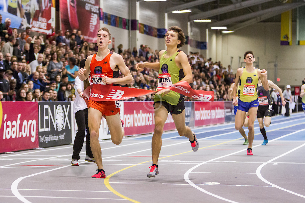 New Balance Indoor Grand Prix Track & FIeld:  Junior Boys Mile, Salisbury, Wentzel