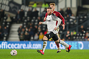 Derby County forward Wayne Rooney on the ball during the The FA Cup match between Derby County and Northampton Town at the Pride Park, Derby, England on 4 February 2020.