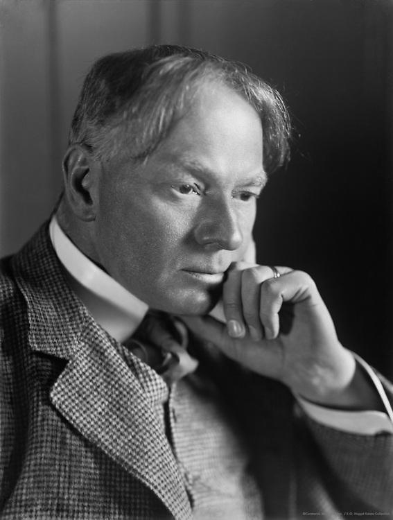 Jerome K. Jerome, English Author and Humourist, circa 1911