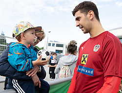 02.06.2018, Woerthersee Stadion, Klagenfurt, AUT, ÖFB Nationalteam, Training, während einem öffentlichen Training des ÖFB Nationalteams am Sonntag, 2. Juni 2019 im Wörtherseestadion in Klagenfurt, im Bild Aleksandar Dragovic (AUT) // Aleksandar Dragovic of Austria during a Trainingssession of Austrian National Footballteam at the Woerthersee Stadion in Klagenfurt, Austria on 2018/06/02. EXPA Pictures © 2019, PhotoCredit: EXPA/ Johann Groder