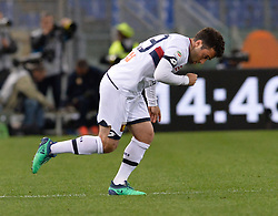 April 18, 2018 - Rome, Italy - Giuseppe Rossi during the Italian Serie A football match between A.S. Roma and AC Genoa at the Olympic Stadium in Rome, on april 18, 2018. (Credit Image: © Silvia Lore/NurPhoto via ZUMA Press)