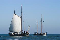 Enkhuizen, schepen en havens, Noord Holland, Netherlands