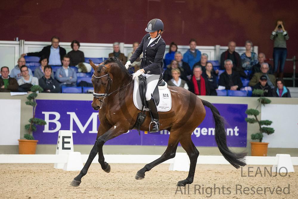Emmelie Scholtens - Electron<br /> Indoor Twente 2013<br /> &copy; DigiShots