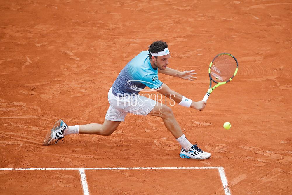 Marco CECCHINATO (ITA) during the Roland Garros French Tennis Open 2018, day 13, on June 8, 2018, at the Roland Garros Stadium in Paris, France - Photo Stephane Allaman / ProSportsImages / DPPI
