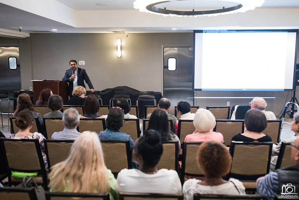 Good Samaritan Hospital host their annual Breast Cancer Symposium at Toll House Hotel in Los Gatos, California, on October 3, 2018. (Stan Olszewski/SOSKIphoto)