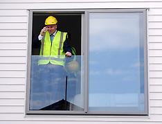 Auckland-Prime Minister John Key visits Hobsonville housing development