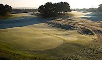 ZANDVOORT - De golfbaan van de Kennemer Golfclub, waar ook in 2008 het Dutch Open voor mannen zal worden gehouden. Op de foto: hole A9