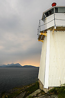 Norway, Ofoten. Lødingen municipality is part of the Ofoten traditional region. The administrative centre of the municipality is the village of Lødingen. A small lighthouse.
