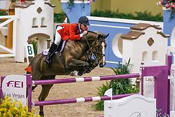 Ward Mclain, USA, Sapphire<br /> World Cup Final Jumping - Las Vegas 2007<br /> © Hippo Foto - Dirk Caremans<br /> 22/04/2007