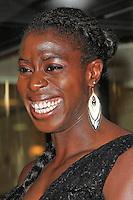 LONDON - September 01: Christine Ohuruogu attended 'A Night of Champions' at the Grosvenor House Hotel, London, UK. September 01, 2012. (Photo by Richard Goldschmidt)