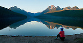 Montana: Glacier NP: Bowman Lake, Flathead River North Fork