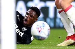 Caleb Ekuban of Leeds United cuts a frustrated figure - Mandatory by-line: Robbie Stephenson/JMP - 02/03/2018 - FOOTBALL - Riverside Stadium - Middlesbrough, England - Middlesbrough v Leeds United - Sky Bet Championship