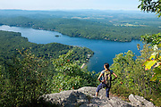 Rattlesnake Cliffs above Lake Dunmore, Vermont in the Moosalamoo National Recreation Area.