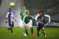 Francois Clerc - 28.02.2015 - Toulouse / Saint Etienne - 27eme journee de Ligue 1 -<br />